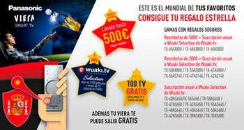 Con TV Smart Viera consigue tu regalo estrella