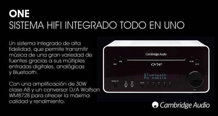 Sistema HIFI integrado todo en uno