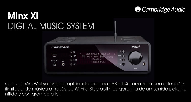 Minx Xi, digital music system