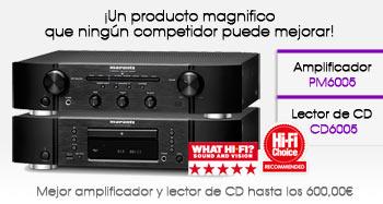 Amplificador Marantz PM6005 y  Lector  de CD CD6005