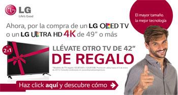 Llévate otro televisor LG de 42