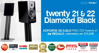 Twenty 21 & 22 Diamond Black con REGALO