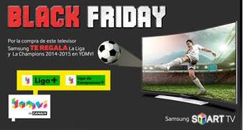 Black Friday con Samsung