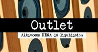 OUTLET de Altavoces REGA