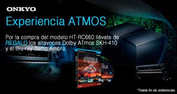 Con Onkyo llévate de regalo los altavoces Dolby Atmos SHK-410