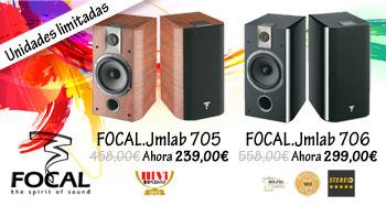 Altavoces Focal 705 y 706 de oferta