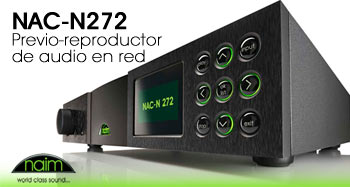 NAC-N272 Previo-reproductor  de audio en red