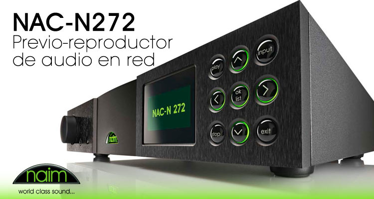 NAC-N272 Previo-reproductor  de audio en red