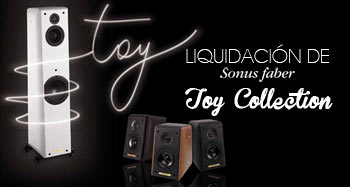 Sonus Faber Toy Collection de liquidación