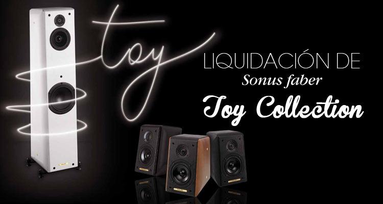 Sonus Faber Toy Collection de liquidación