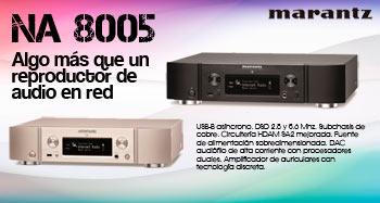 NA 8005, algo más que un reproductor de audio en red