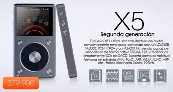 X5 Segunda generación
