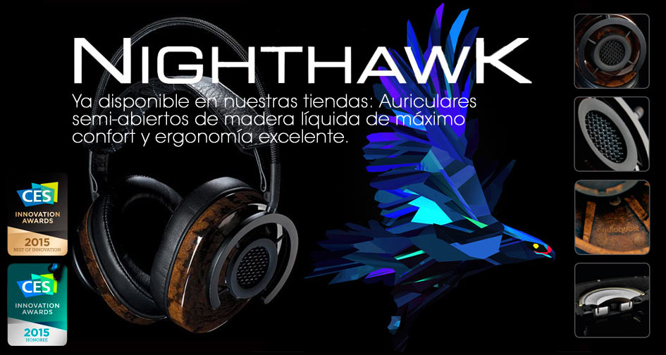 ¡¡Audioquest NightHawk ya disponible en nuestras tiendas!!