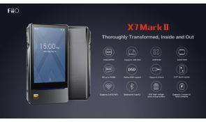 FiiO lanza sus nuevos reproductores y amplificador X7II, X3III y Q1II