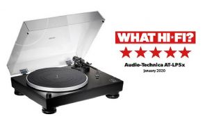Giradiscos Audio-Technica AT-LP5x: 5 estrellas en What Hi-Fi?