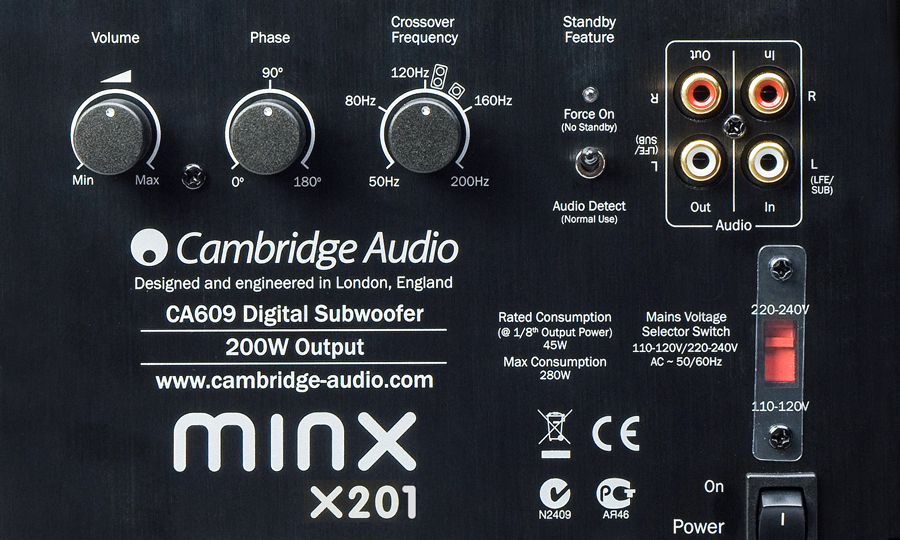 Cambridge Audio Minx X201