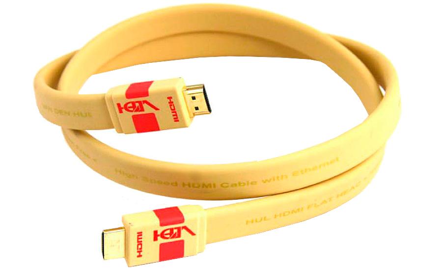 Van-Den-Hul HDMI Flat HEAC - 10398