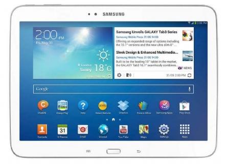 Samsung GT-P5200ZWAPHE - 16110