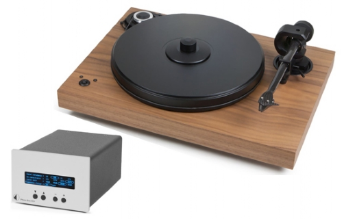 Pro-Ject 2Xperience SB DC+Phono Box DS+ Silver - 19414