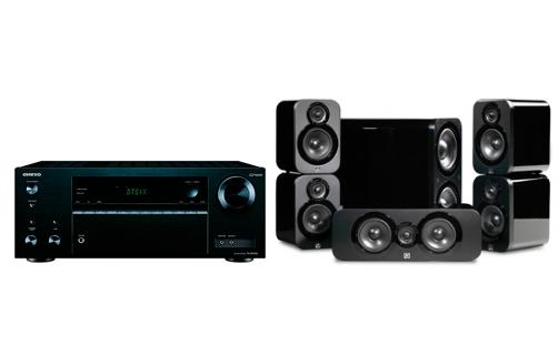 Onkyo TX-NR555+3000 Cinema Pack - 20580