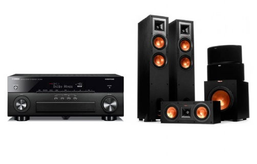 Yamaha RX-A860 + R-28F Home Theater System - 21059