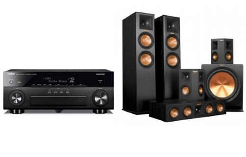 yamaha rx a860 rp 280 home theater system. Black Bedroom Furniture Sets. Home Design Ideas