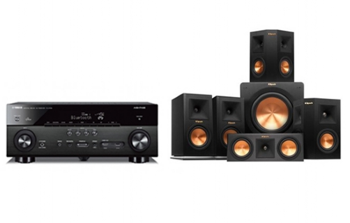 Yamaha RX-A660+RP-150 Home Theater System - 21073