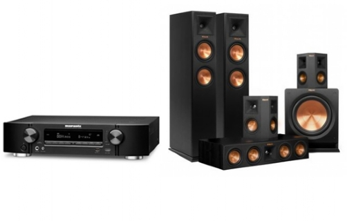 Marantz NR1607+RP-250 Home Theater System  - 21191