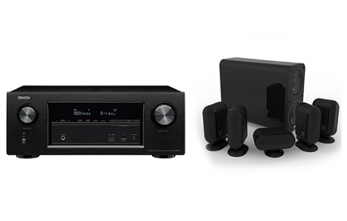 Denon AVR-X3200W+7000i 5.1 Cinema Pack - 21407