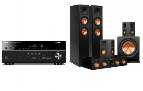 Yamaha RX-V681+RP-250 Home Theater System  - 21621