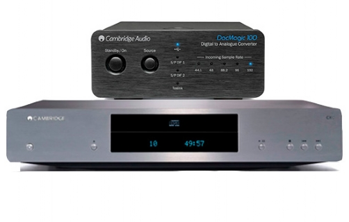 Cambridge Audio CXC + DacMagic 100 - 22080