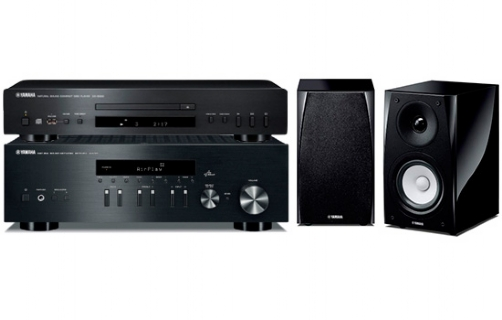 Yamaha R-N301 + NS-BP182 +CDS300 - 22234