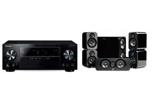 Pioneer VSX832 +3000 Cinema Pack - 22300