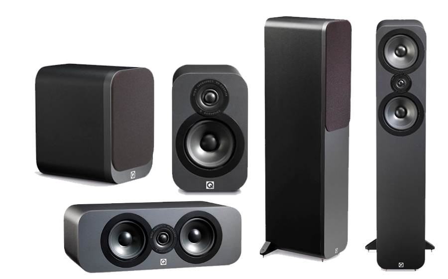 Q-Acoustics 3050 Cinema 5.0 - 22438