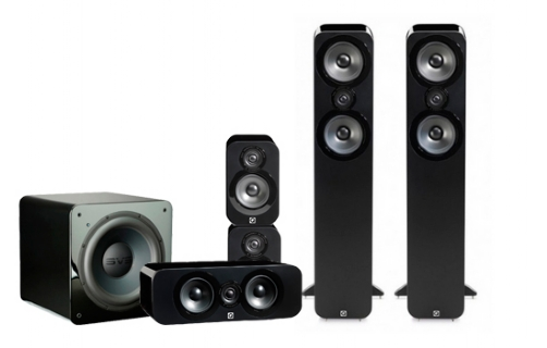 Q-Acoustics 3050 Cinema Pack + SB-2000 - 22599
