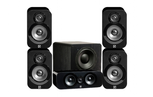 Q-Acoustics 3000 Cinema Pack + PB-1000 - 22616