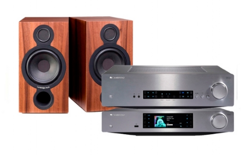 Cambridge Audio CXN+ CXA60 + AERO2 - 22648