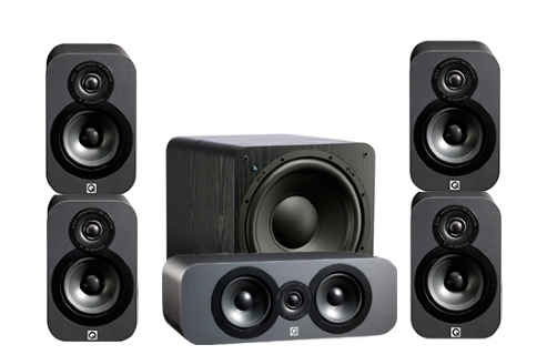 Q-Acoustics 3000 Cinema Pack + SB-1000 - 22654