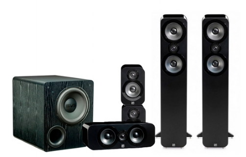 Q-Acoustics 3050 Cinema Pack + PB-2000 - 22655