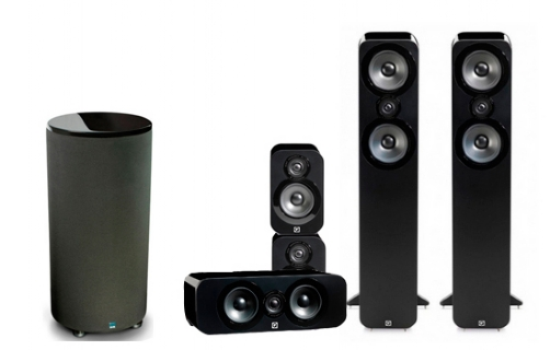 Q-Acoustics 3050 Cinema Pack + PC-2000 - 22656