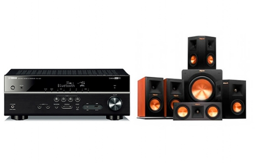 Yamaha RX-V481 + RP-150 Home Theater System - 22692