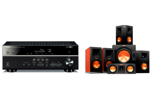 Yamaha RX-V481 + RP-160 Home Theater System - 22694