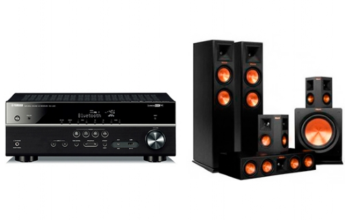 Yamaha RX-V481 + RP-250 Home Theater System - 22696