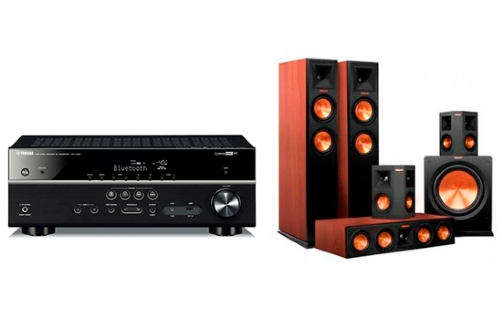 Yamaha RX-V481 + RP-260 Home Theater System - 22697