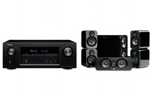 Denon AVR-X1300 + 3000 Cinema Pack - 22839