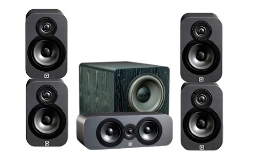 Q-Acoustics 3000 Cinema Pack + PB-2000 - 23031