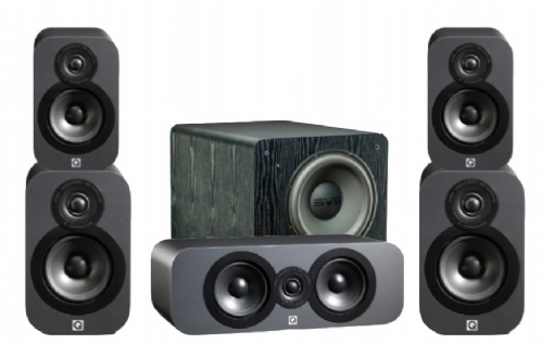Q-Acoustics 3020 Cinema Pack + PB-2000 - 23032