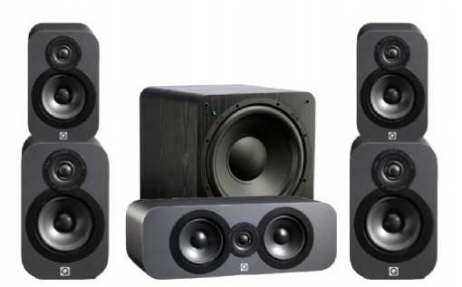 Q-Acoustics 3020 Cinema Pack + SB-1000 - 23033