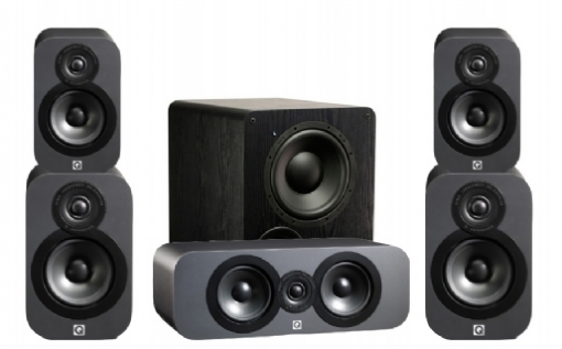 Q-Acoustics 3020 Cinema Pack + PB-1000 - 23034