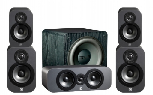 Q-Acoustics 3020 Cinema Pack + SB-2000 - 23035